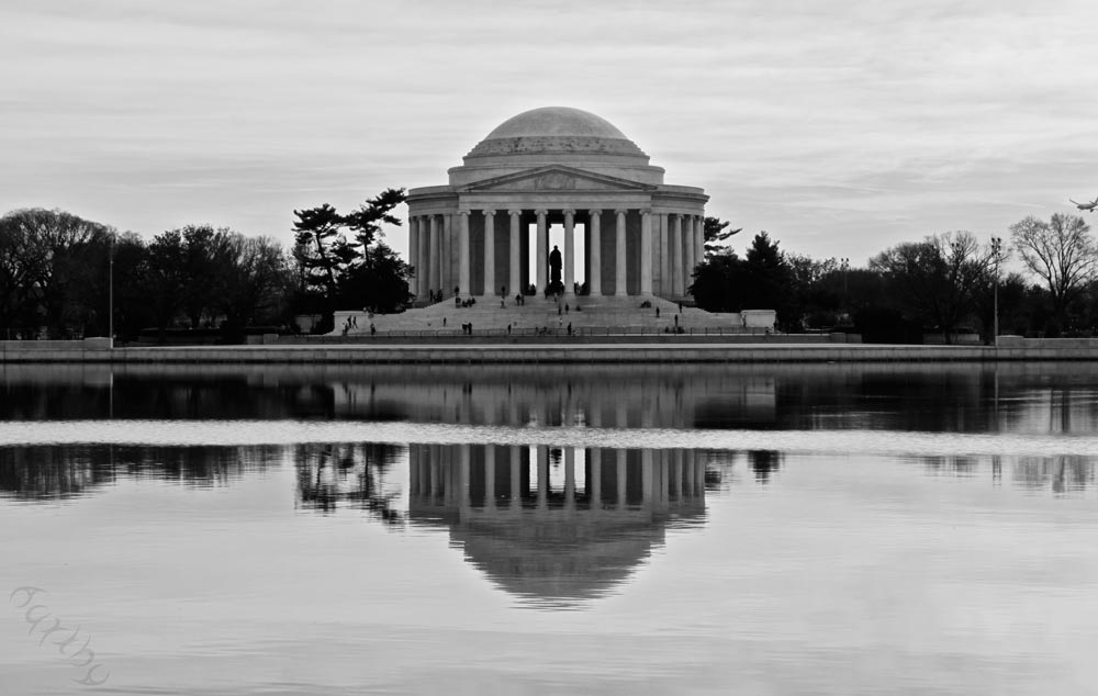 Photograph - Thomas Jefferson Memorial