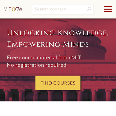 Project - MIT OpenCourseWare